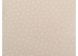 Stoff Sternchen weiß
