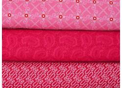 Stoffset rosa pink