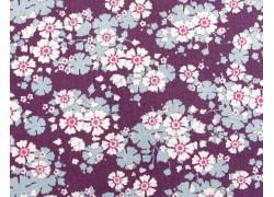Tilda Stoffe Blumenstoff violet Woodland Aster