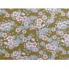 Tilda Stoffe Blumen Woodland Aster Olive Patchworkstoff