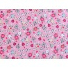 Blumenstoff rosa Moments Patchworkstoff