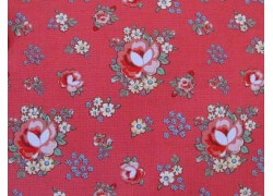 Rosenstoff rosa Dots and Posies Patchworkstoff