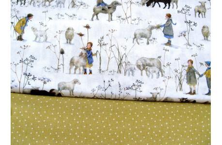 Stoffpaket Daniela Drescher Schafe Kinder