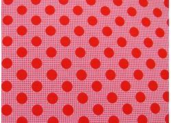 Tilda Stoffe Medium Dots rot Punktestoff