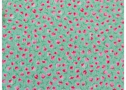 Blumenstoff grün Guest Room Patchworkstoff