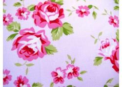 Rosenstoff rosa Quiltstoff Rambling rose Tanya Whelan