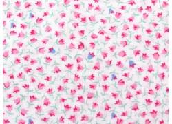 Streublümchenstoff rosa weiß Guest Room Quiltstoff