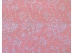 Quiltstoff Blumenstoff rosa Abbie´s Garden