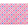 Baumwollstoffe Miniblümchen pink Julia