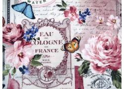 Rosenstoff Patchworkstoff Floral Essence