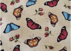 Patchworkstoff Schmetterlinge Butterfly Basics