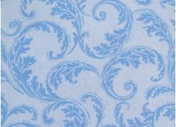 Patchworkstoff Rankenstoff hellblau French Scroll