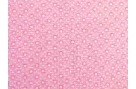 Designerstoff Punkte rosa Caroline Patchworkstoff