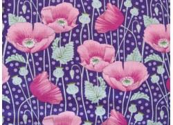 Tilda Stoffe Gardenlife pink lila Patchworkstoff