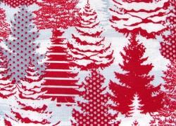 Weihnachtsstoff Tannen Holiday Lane Quiltstoff