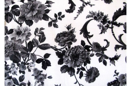 patchworkstoff rosenstoff schwarz wei hettyrosepatch. Black Bedroom Furniture Sets. Home Design Ideas