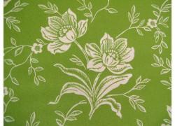 Blumenstoff grün Christmas Figs Patchworkstoff