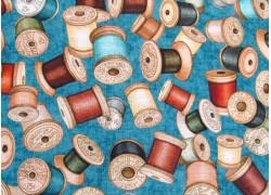 Patchworkstoff Garnrollen Sew Lovely Quiltstoff