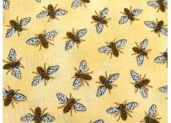 Patchworkstoff Bienen Bee Grateful Quiltstoff