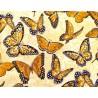 Patchworkstoff Schmetterlinge Bee Inspired Quiltstoff