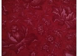 Patchworkstoff Blumenstoff rot Cranberries & Cream