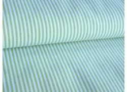 Stoff Streifen grün