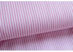 Stoff Streifen rosa