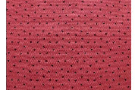 Stoff Sternchen pink