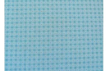 Stoff Karo blau