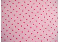 Stoff Punkte rosa