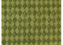 Stoff Rauten grün