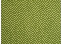Stoff Fischgrat grün