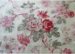 Stoff Rosen Schmetterlinge