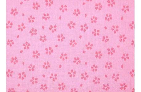 Stoff Blümchen rosa