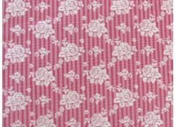 Stoff Röschen rosa
