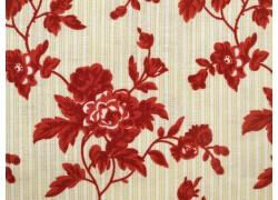 Stoff Rosen rot