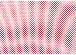 Stoff Punkte rot weiß