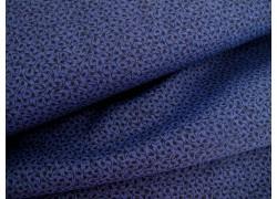 Stoff Streublümchen blau