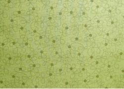 Stoff Blümchen grün