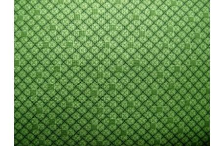 Stoff Karos grün