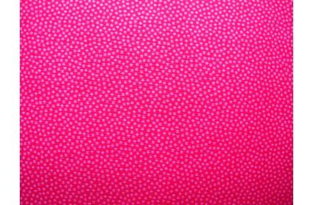 Stoff Pünktchen pink