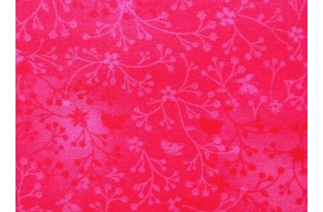 Stoff Streublümchen pink