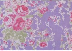 Stoff Rosen lila flieder