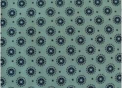 Stoff Sternchen blau