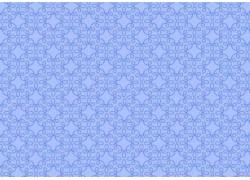 Stoff Ornamente hell blau