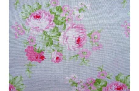Stoff Rosen grau rosa Tanja Whelan
