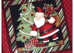 Weihnachtskissen rot grün