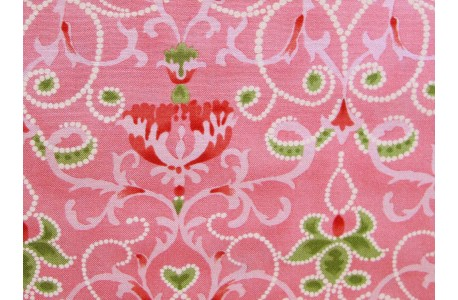 Fat Quarter Blumen rosa