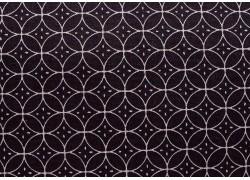 Stoff Canvas schwarz