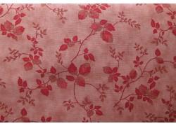 Stoff Rosenranken rosa